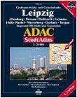 ADAC  Großraum Stadt- & Gemeinde Atlas Leipzig