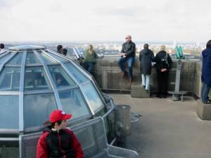V�lkerschlachtdenkmal-Leipzig: Aussichtsplattform