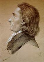 Johann Wolfgang Goethe studiert in Leipzig