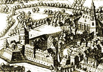 Grafik: Plei�enburg Leipzig im 12. Jahrhundert