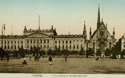 Universitätsgebäude + Paulinerkirche Leipzig