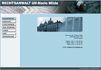 Anwaltskanzlei Rechtsanwalt Ulf-Mario Milde Mahn- und Vollstreckungsrecht, Mietrecht,  Arbeitsrecht und Familienrecht.