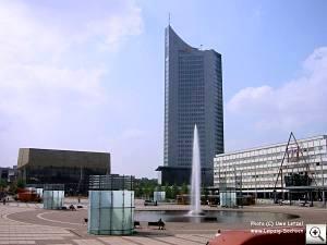 Fotos Leipzig: Gewandhaus und City-Hochhaus Leipzig