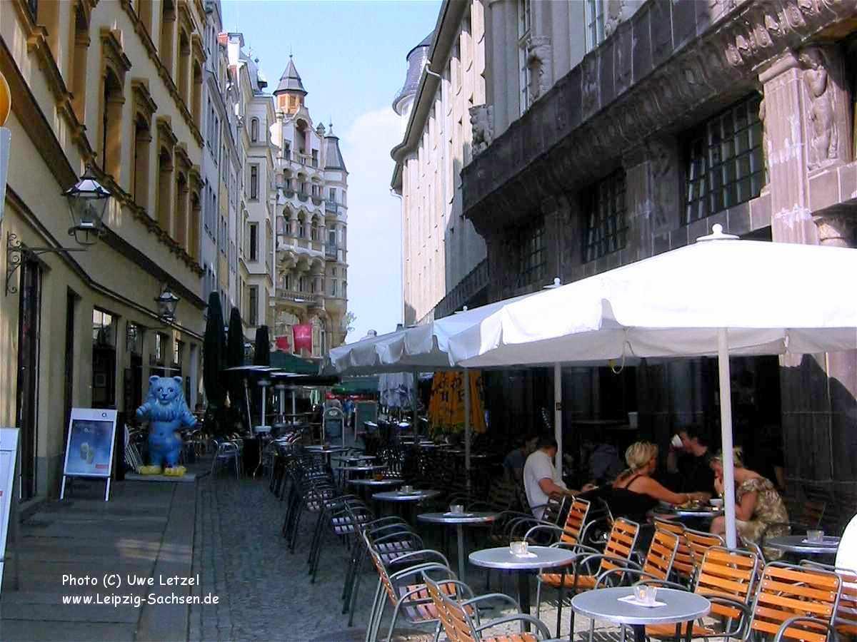 Barfußgässchen leipzig cafés salons de thé and brasseries