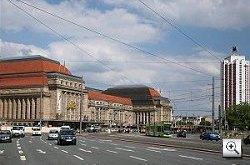 Leipzig:  Der Hauptbahnhof