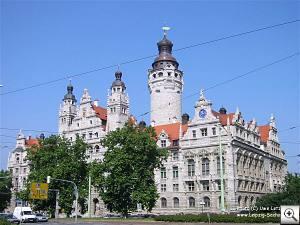 Foto: Das Neue Rathaus Leipzig