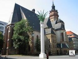 Foto: Die Nikolaikirche Leipzig