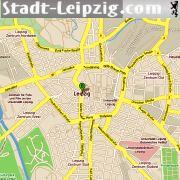 Leipzig Karte Mit Stadtteilen.Leipzig Stadtplan Strassenkarten Citymap Stadtplane Fur