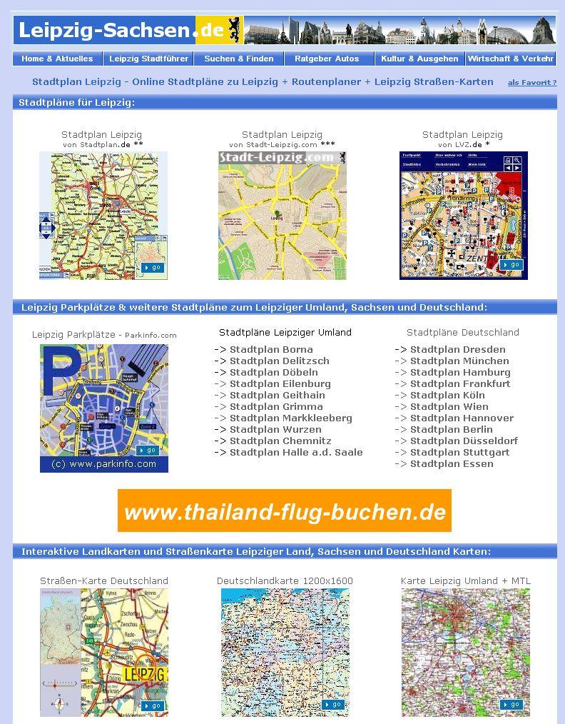 Karte Mit Hausnummern.Der Leipzig Stadtplan Und Sachsen Karten