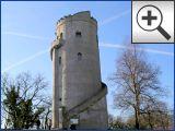 Albertturm auf dem Collm Berg bei Oschatz in Sachsen
