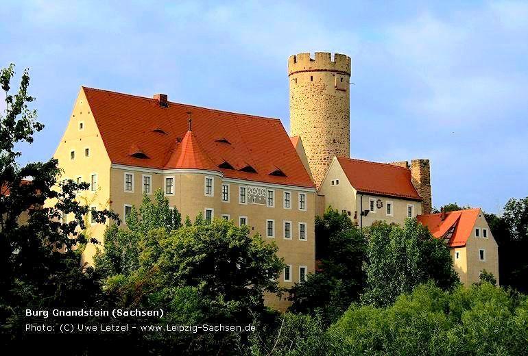 Heiraten auf Burg Gnandstein in Sachsen
