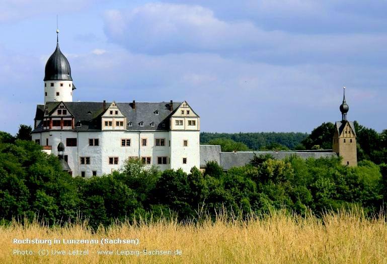 Hochzeit auf Schloss Rochsburg in Sachsen