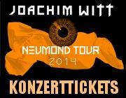 Foto: Joachim Witt Live Konzert Tickets
