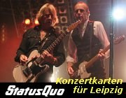 Foto: Status Quo Konzert Tickets Leipzig