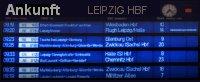 Leipzig Hauptbahnhof Fahrplan Ankunfttafel