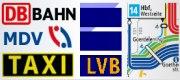 Leipzig Nahverkehr: Taxi, Fahrpl�ne Bus & Bahn, Mietwagen, Mitfahrzentrale