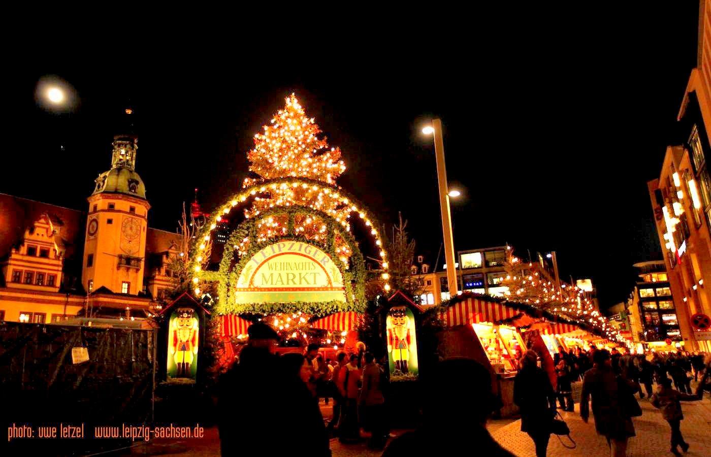 Das Weihnachtsmarkt.Leipzig Weihnachtsmarkt 2018 Leipzig Sachsen De