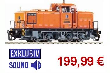 Piko 71432 TT Diesellok BR 106.0 Fahrschullok DR