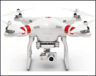 Kameradrohne DJI-Phantom-II-VISION+ V3.0 RTF Quadrokopter mit 3-Achs Gimbal und 14 MP Full HD Kamera