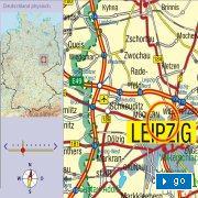 Stra�enkarte Deutschland