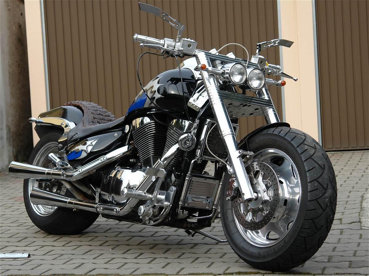 leipzig suzuki vl 1500 intruder custom thunderbike umbau. Black Bedroom Furniture Sets. Home Design Ideas