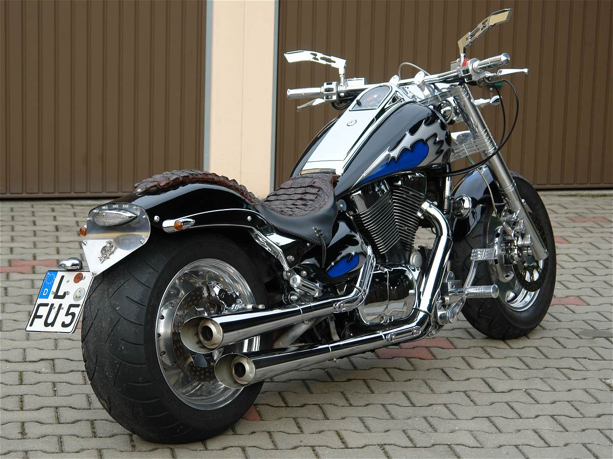 Custom Parts Suzuki Intruder Images